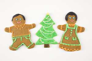 Gingerbread cookies marched into our traditions about the fifteenth century in France and Germany when specialty breads were only allowed to be baked during Easter and Christmas. The breads became cookies and were identified with Christmas and Yule.